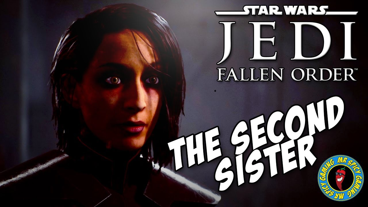 SEGUNDA IRMÃ MOSTRA SEU ROSTO - Star Wars Jedi: Fallen Order Gameplay Ep6 + vídeo