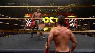 Colin Cassady vs Sylvester Lefort W/ Marcus Louison NXT June 12th 2014