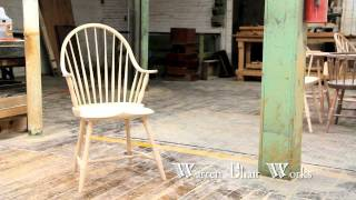 How to make a Windsor Chair  by Warren Chair Works thumbnail