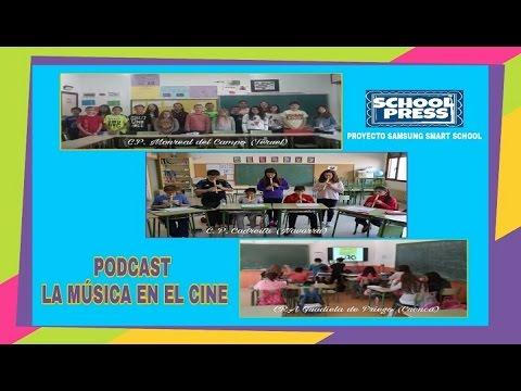 PODCAST LA MÚSICA EN EL CINE. PROYECTO SCHOOL PRESS