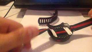 review do pulsmetro Garmin Forerunner 110