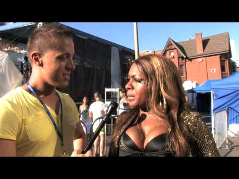 Interview with singer Ultra Naté at Prism's Aqua party at Toronto Pride 2010
