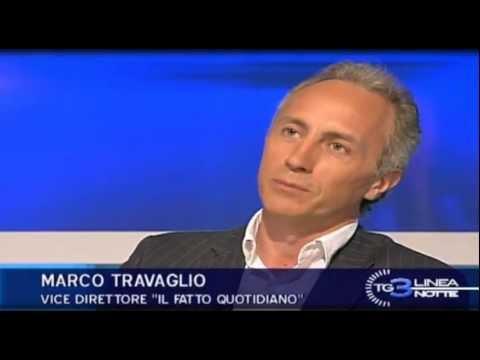 "Marco Travaglio su decreto spending review e sentenza Diaz (""Linea Notte"" 06Lug2012)"