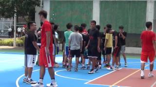 仁濟醫院靚次伯紀念中學   南華甲一籃球隊到本校指導籃球隊同