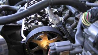1992 Honda Accord Timing Belt/Water Pump Replacement Highlights