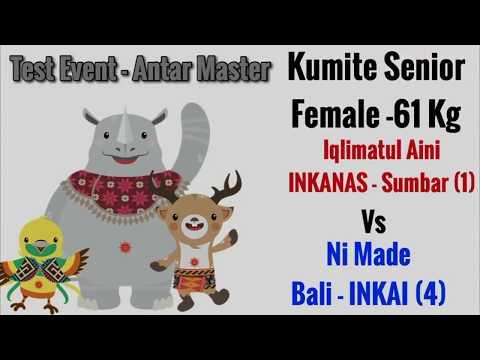 Iqlimatul (INKANAS/Sumbar) Vs Ni Made (Bali/INKAI) Kejurnas Antar Master 2017