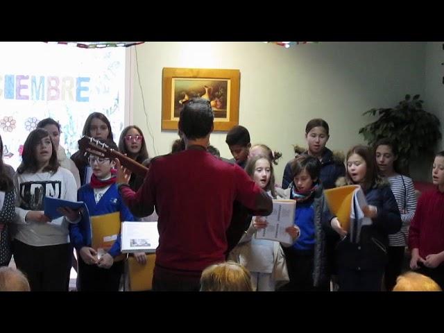 Curs 2017-18 - Cor Escolar  - Quan ve Nadal - Residència St.Llorenç