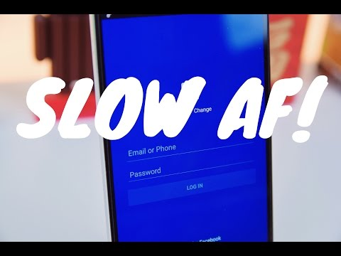 Facebook slows down your Android! (Proof)