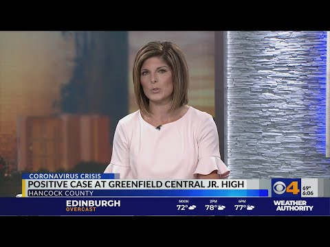 Greenfield Central Junior High School student tests positive for COVID-19