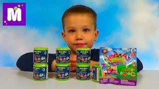 Энгри бёрдс и Моши Машемс сюрпризы игрушки распаковка Angry Birds & Moshi Mashems unboxing toys