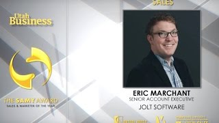Sales Professional of the Year - Eric Marchant of Jolt
