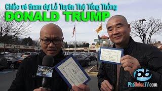 Repeat youtube video Cựu quân nhân gốc Việt và chiếc vé dự lễ tuyên thệ Tổng thống Donald Trump