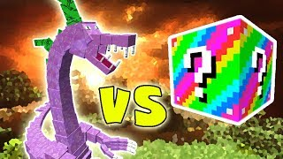 SPIKEZILLA VS. LUCKY BLOCK EXTREME (MINECRAFT LUCKY BLOCK CHALLENGE SPIKEZILLA)