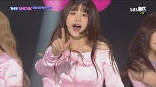 fromis_9, LOVE BOMB [THE SHOW 181016] thumbnail