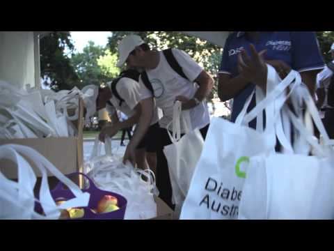 141114 World Diabetes Day - Walk To Work Campaign