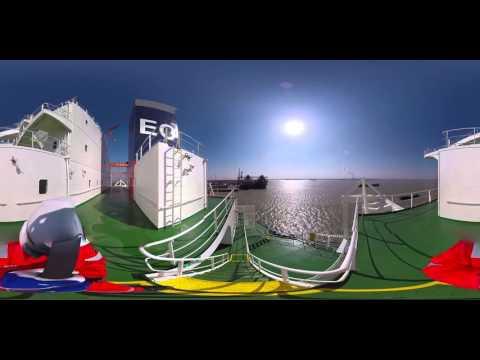 Oldendorff Carriers - Helga Oldendorff - 360° Bridge Deck to Lifeboat