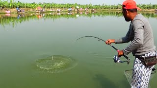 Best Catla Fishing Videos By Using Fishing Rod