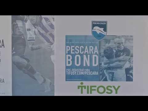 Pescara Camera Live : Live calcio presentati i pescara bond youtube