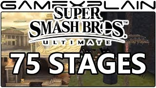 9 More Super Smash Bros. Ultimate Stages Discovered on Official Website (75 Total So Far!)