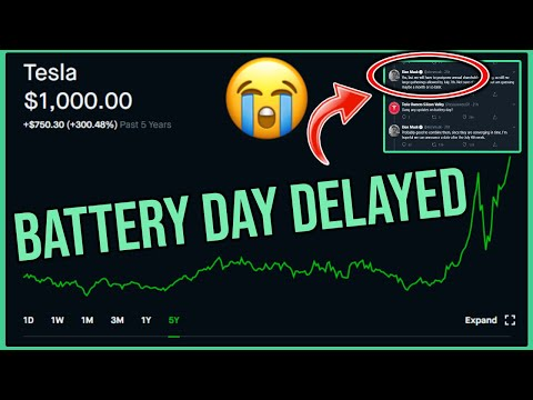 "tesla-""battery-day""-delayed-again---robinhood-investing-|-tsla-stock-news-and-analysis"