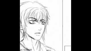BL Yaoi Comic-Skizzen Vorschau