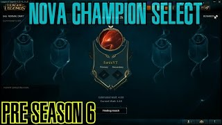 League of Legends - NEW CHAMPION SELECT PRE SEASON 6 [PT-BR]