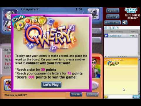 Pogo Games: QWERTY (Retired)