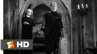 Bride of Frankenstein (5/10) Movie CLIP - Pretorius Uses The Monster For Backup (1935) HD