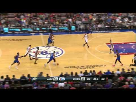 Utah Jazz vs Philadelphia 76ers | March 8, 2014 | NBA 2013-14 Season