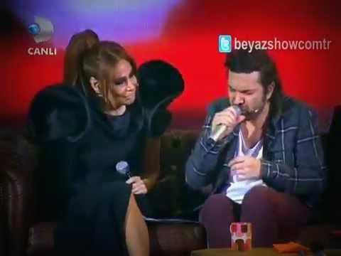 Halil Sezai & Linet Düet İsyan  HD  Beyaz Show 2013