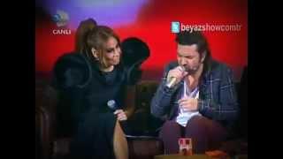 Halil Sezai & Linet Düet İsyan  HD  Beyaz Show 2013 2017 Video