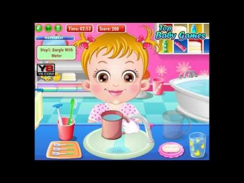 Baby Hazel Brushing Time Fashion - Y8.com Online Games by malditha