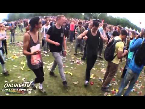 Dubbing Benny Hill music over rave music is inexplicably hilarious