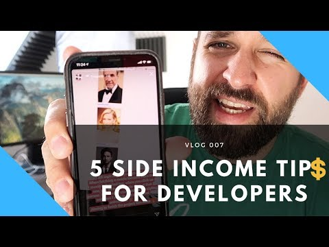 5 Tips For SIDE INCOME As A Software Developer