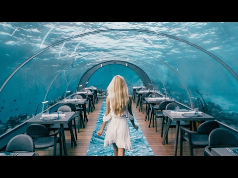 MALDIVES DAY 1 | WORLD BIGGEST UNDERWATER RESTAURANT AT A 5