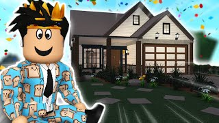 trying to build an AFFORDABLE NO GAMEPASS bloxburg house...