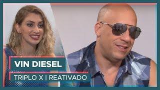 VIN DIESEL   Entrevista Exclusiva com Carol Moreira