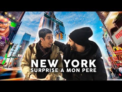 Voyage à New York | Surprise à mon père !!