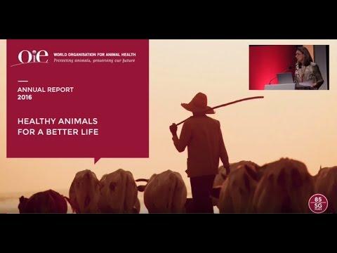 OIE Annual Report Presentation 2016 - Dr Monique Eloit, Director General of OIE