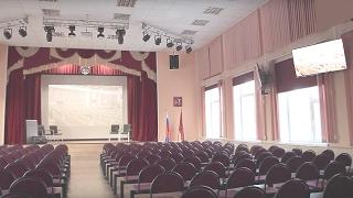 Оборудование актовых залов. Московский колледж №28