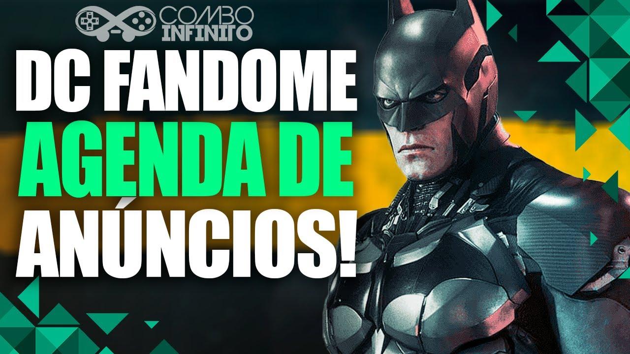 DC FANDOME AGENDA REVELADA! RUMORES CONFIRMADOS?