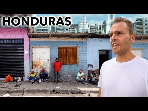 Walking Streets of Honduras Capital City (extremely dangerous)