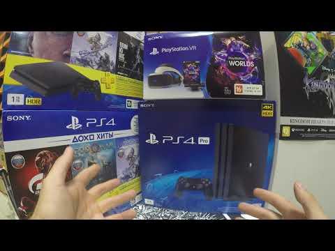PS4 Slim против PS4 Pro