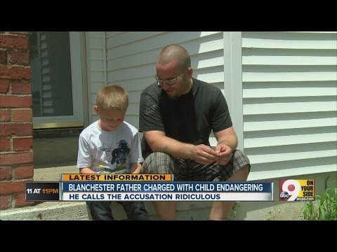Blanchester father charged with child endangering