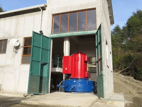 Siapro Pelton hydro turbine 1 MW turnkey project- test after installation