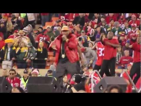 E-40 49ers Halftime Show