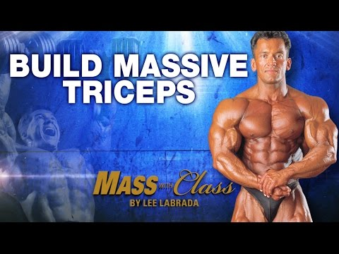 Lee Labrada\'s Triceps Training - Tricep for Mass