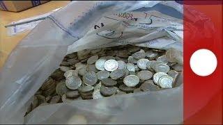 Tonnenweise Euro-Falschgeld entdeckt