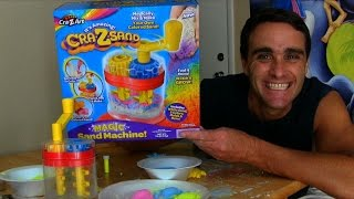 Crazy Sand Magic Sand Machine Unboxing! || Toy Reviews || Konas2002