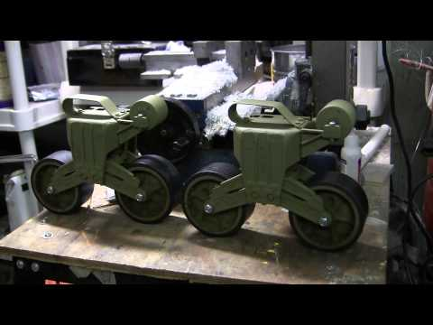 1/6th scale RC Armortek M4A4 sherman tank project video #5 (Suspension complete and installed)